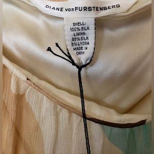 Diane Von Furstenberg Tops - Diane von Furstenberg Silk Spaghetti Strap NWT 6
